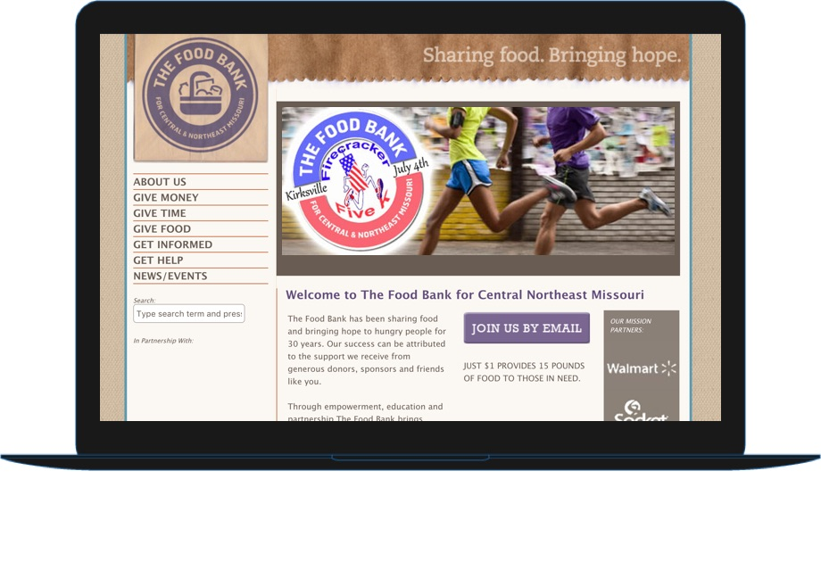 Food Bank for Central and Northeast Missouri example