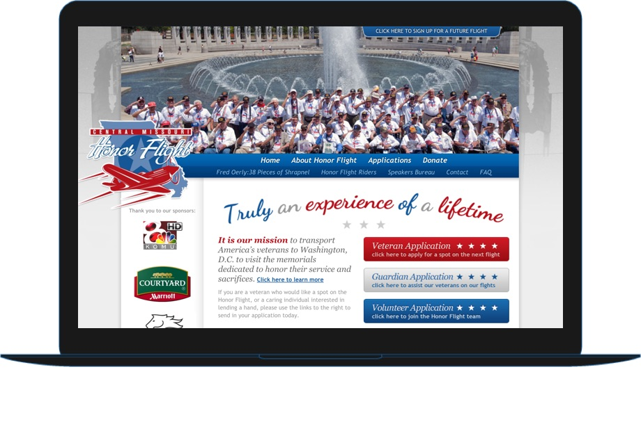 Central Missouri Honor Flight example