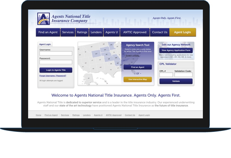 Agents National Title Insurance Company example