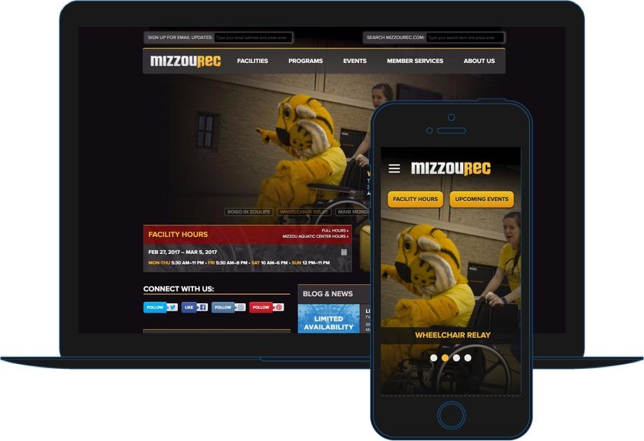 MizzouRec example