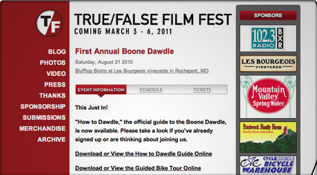 True/False Boone Dawdle