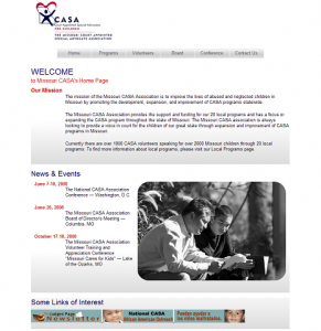 The New Missouri CASA Website