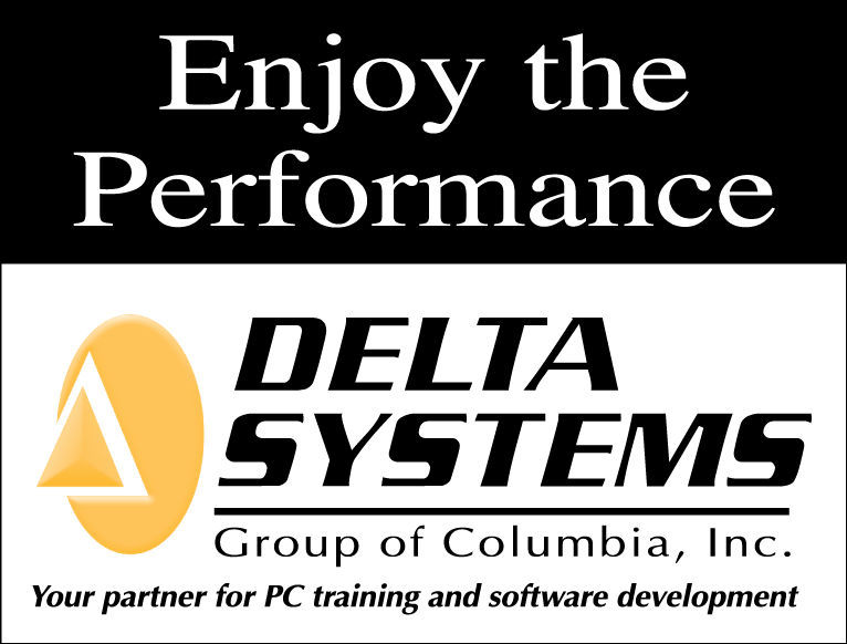 Delta Systems Group of Columbia logo from 1990 to 2001