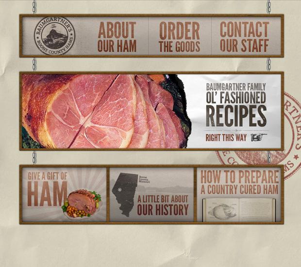 Baumgartner's Boone Count Ham Website Design