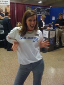 Columbia MO Business Showcase 2011 Volunteer T-Shirt