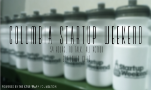 Columbia Startup Weekend 2103