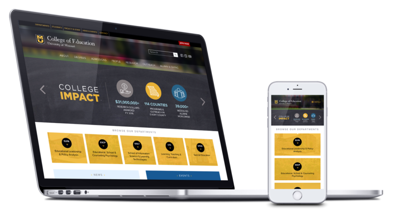 Our Work - Examples of websites and applications built by Delta Systems