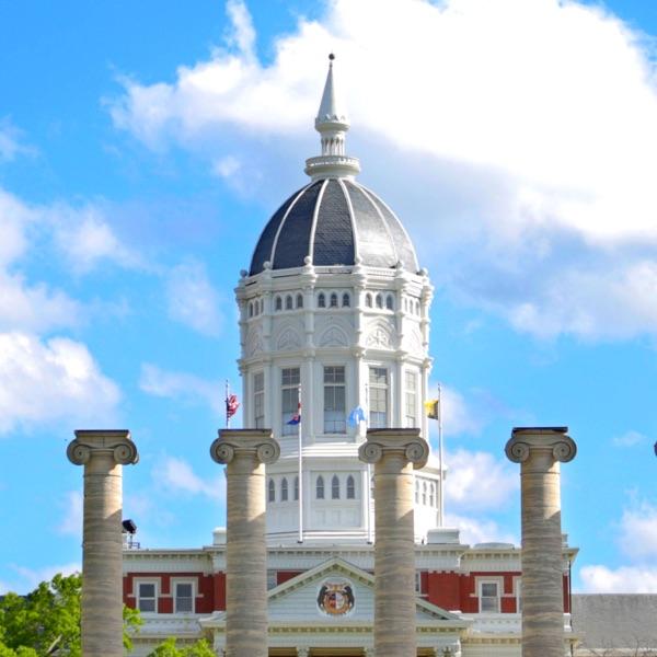 Jesse dome and blue sky
