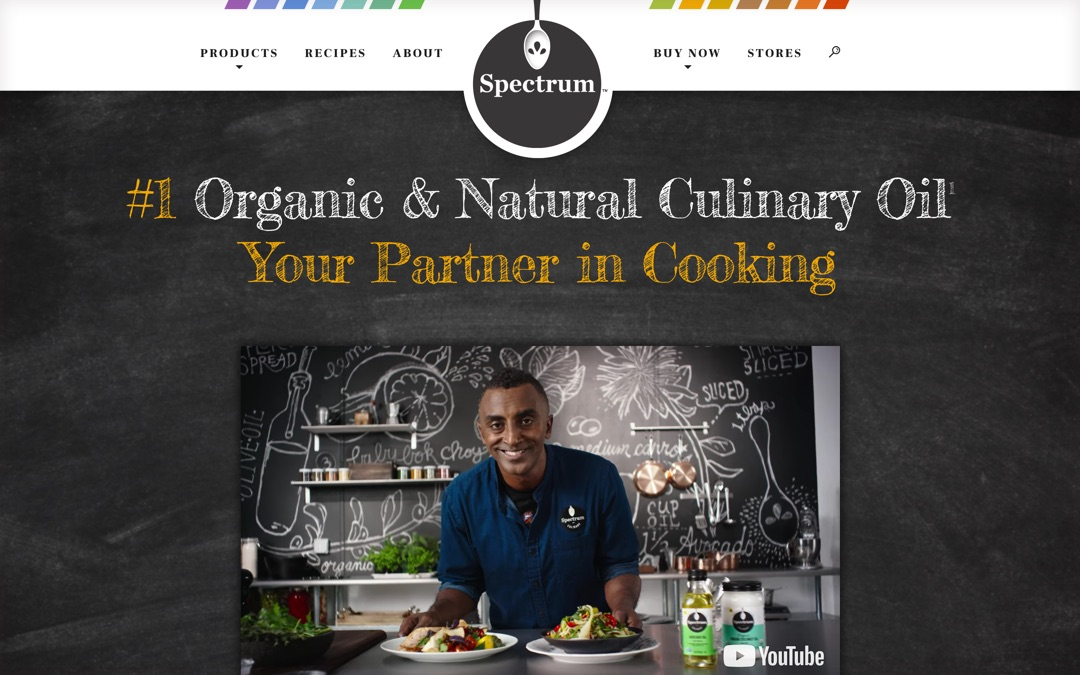 Spectrum Organic Products Website Launches