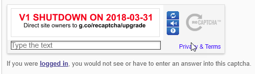 reCAPTCHA is Broken - Google Shuts Down reCAPTCHA v1 (SOLVED)