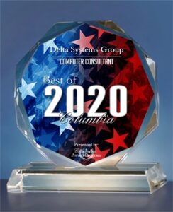 Delta Systems Group 2020 Best of Columbia Award image